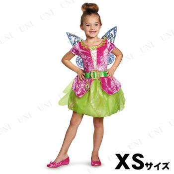 コスプレ 仮装 ティンク(ティンカーベル) 海賊クラシックドレス 女の子用 XS(3T-4T)