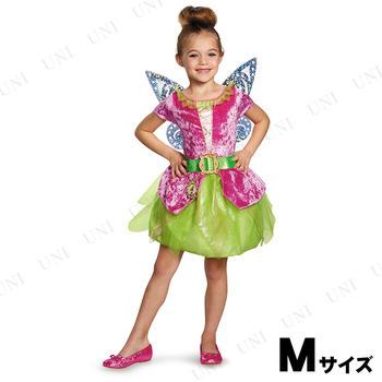 コスプレ 仮装 ティンク(ティンカーベル) 海賊クラシックドレス 女の子用 M(7-8)
