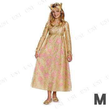 [残り1点] コスプレ 仮装 ディズニー オーロラ姫戴冠式ドレスプレステージ 女の子用 M(7-8)