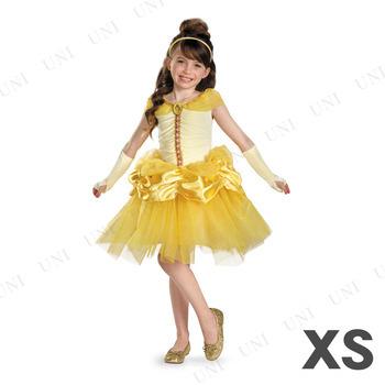 コスプレ 仮装 ディズニー ベル チュチュプレステージ 女の子用 XS(3T-4T)
