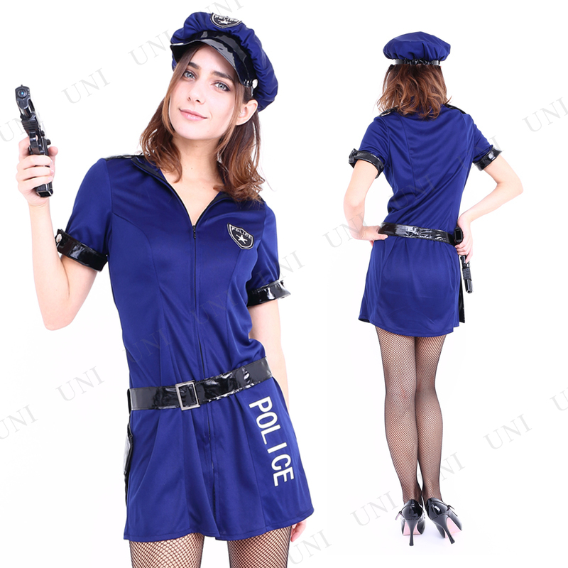 コスプレ 仮装  コスプレ ポリス CLUB QUEEN Navy Police(ネイビーポリス)