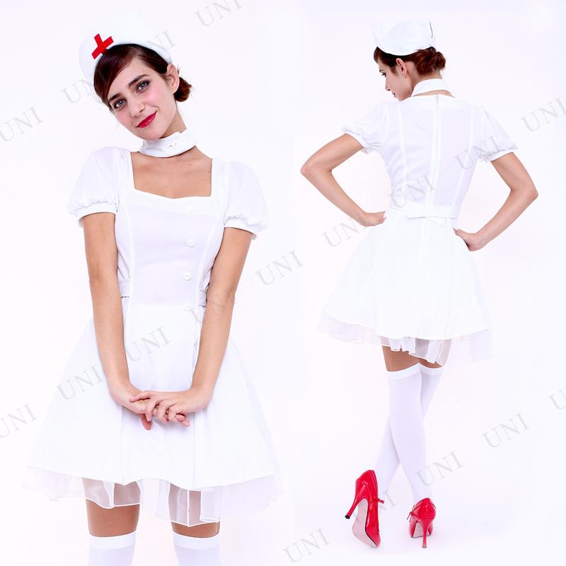 コスプレ 仮装  コスプレ ナース CLUB QUEEN Sweet Nurse(スウィートナース)