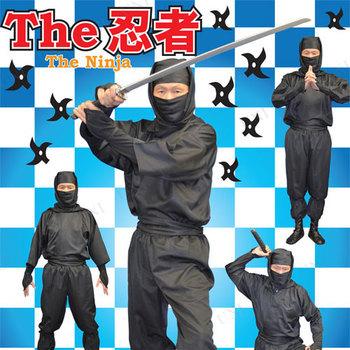 コスプレ 仮装 THE忍者 ブラック