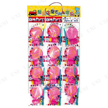 【取寄品】 景品 子供 台紙玩具 スウィングシャボン玉(12付)