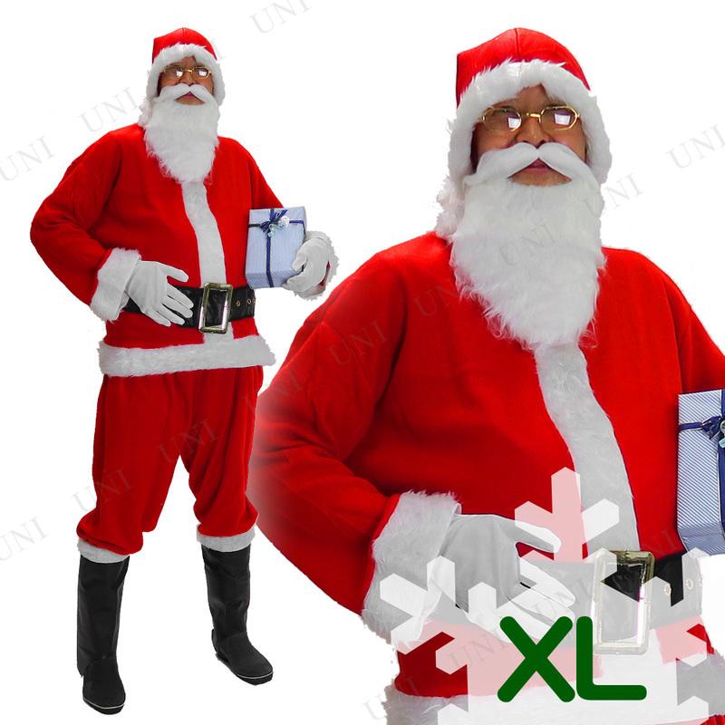 サンタ コスプレ プロモーショナルサンタスーツ XL (大きいサイズ)