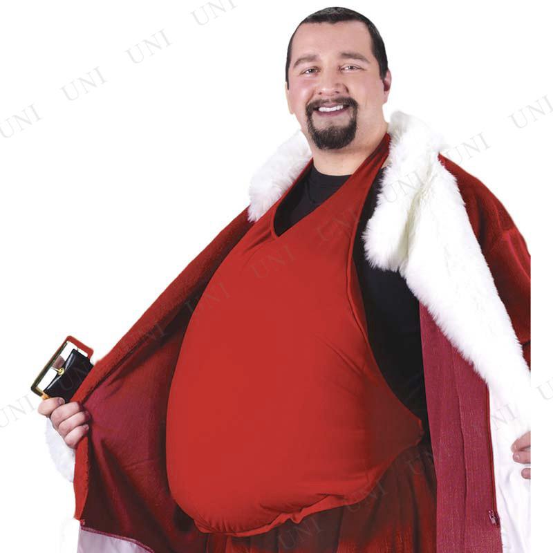 サンタ コスプレ サンタクロースのお腹 (インナー備品)