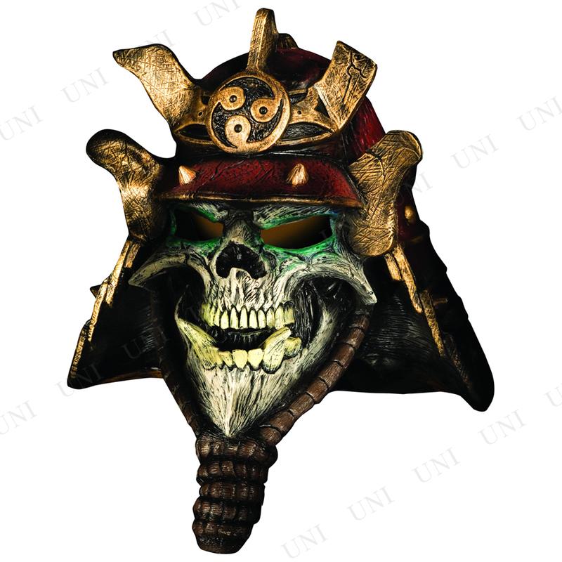 コスプレ 仮装 サムライスカル オーバーヘッドマスク
