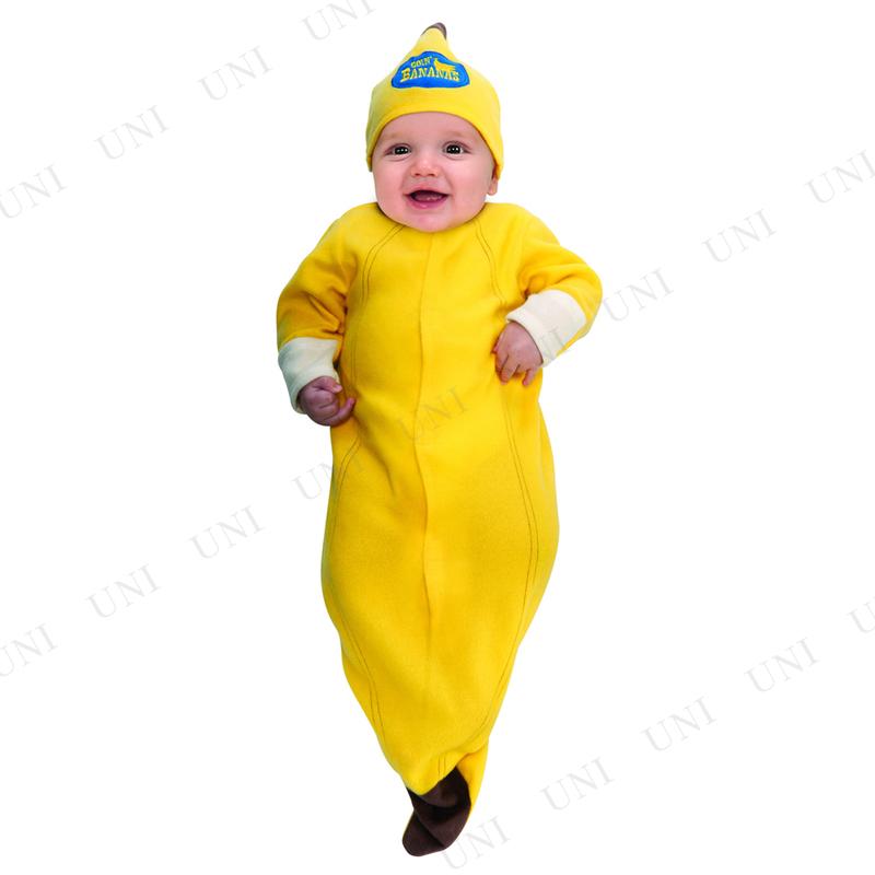 47b30e930c62c1 本店】【パーティワールド】バナナおくるみ ベビー用 Newborn(0-6 ...