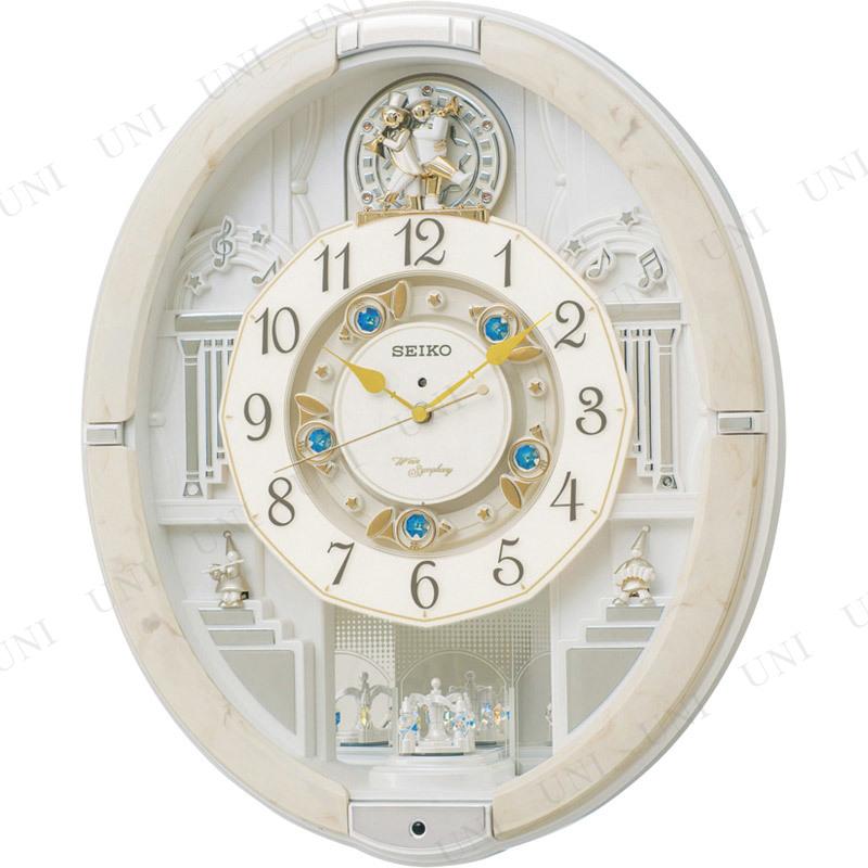 【取寄品】 セイコー ウェーブシンフォニー 電波掛時計