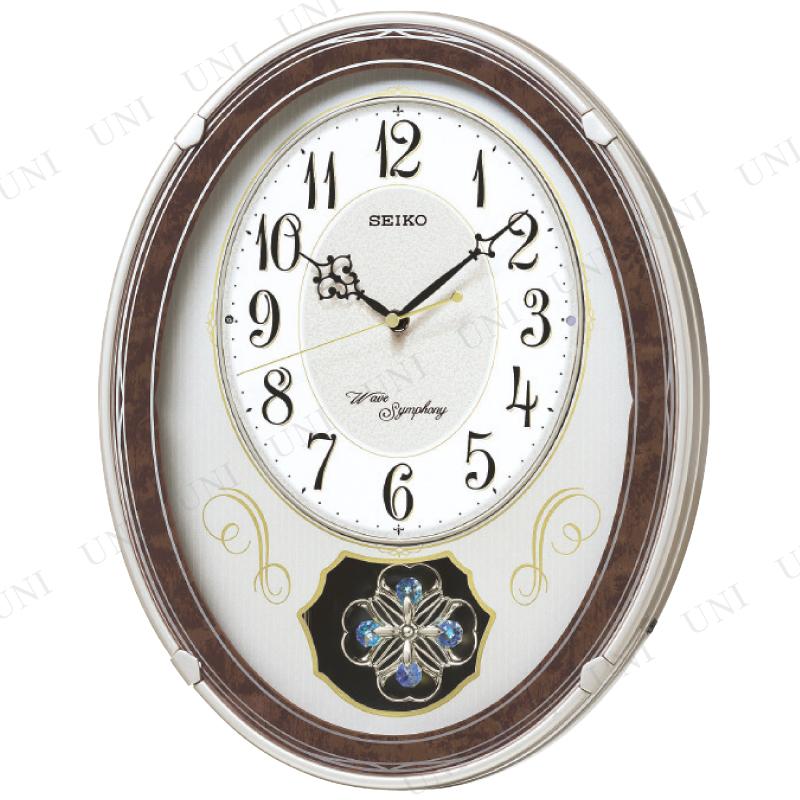 【取寄品】 正時メロディ電波掛時計