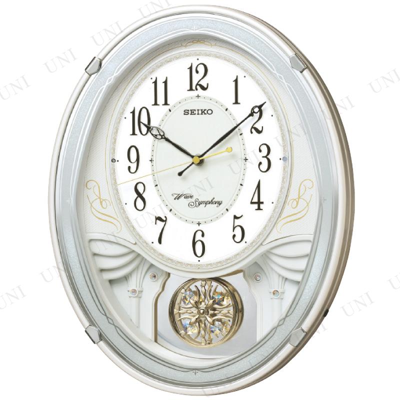 【取寄品】 電波メロディ掛時計