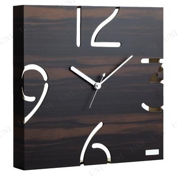【取寄品】 yamato japan 掛時計(黒檀)