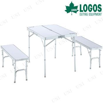 LOGOS(ロゴス)ベンチテーブルセット 4-N
