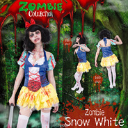 ZOMBIE COLLECTION Zombie Snow White (ゾンビ白雪姫)