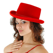 elope(エロープ) レッドハット [TOP HAT RED]