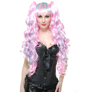 【送料無料】チャレッズ(Charades Costumes) COTTON CANDY WIG