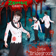 コスプレ 仮装ZOMBIE COLLECTION Zombie Bridegroom(ゾンビ花婿)